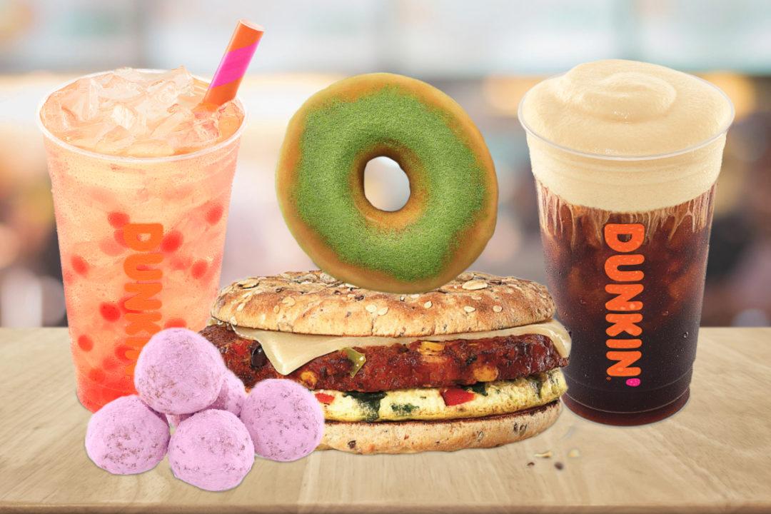 Dunkin's 2021 menu innovation