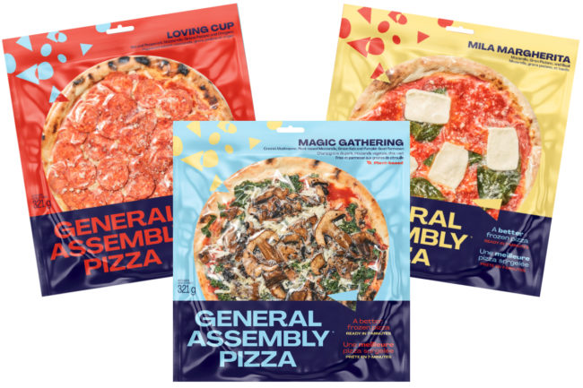 General Assembly frozen pizzas