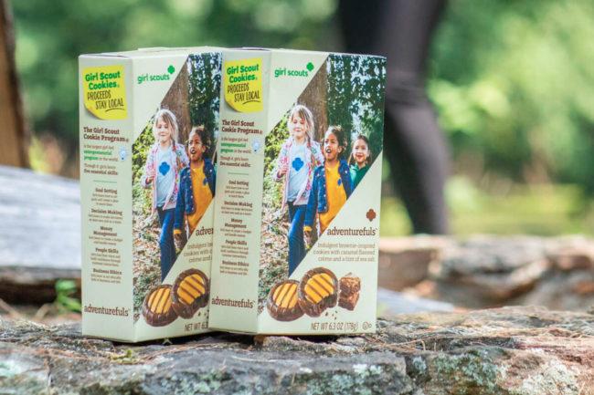 Girl Scout Adventurefuls Cookies