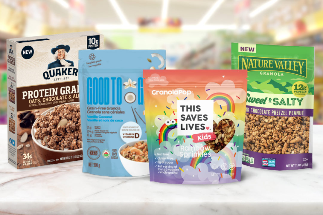New granola products