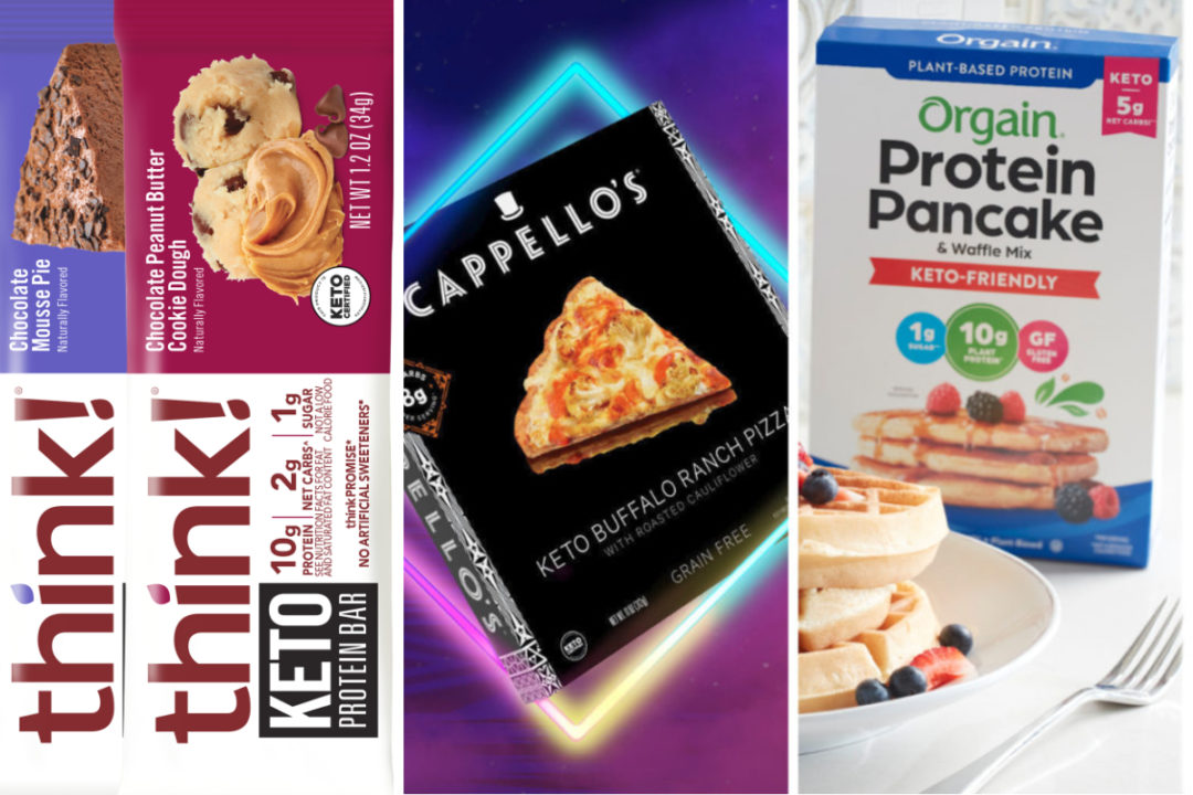 New keto products from Think!, Orgain, Cappello's
