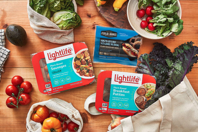 Lightlife and Field Roast plant-based products