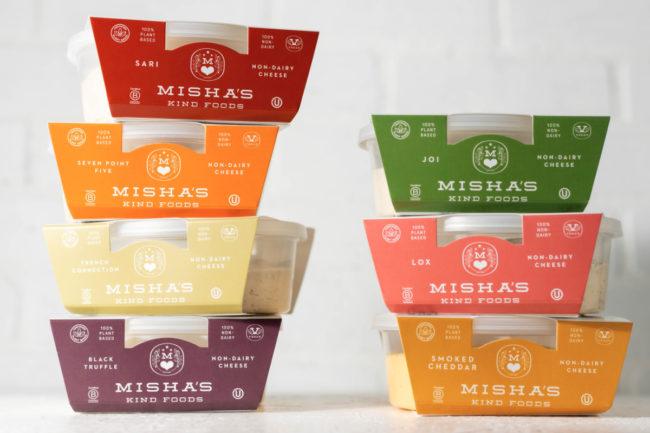 Misha's Kind Foods plant-based cheese
