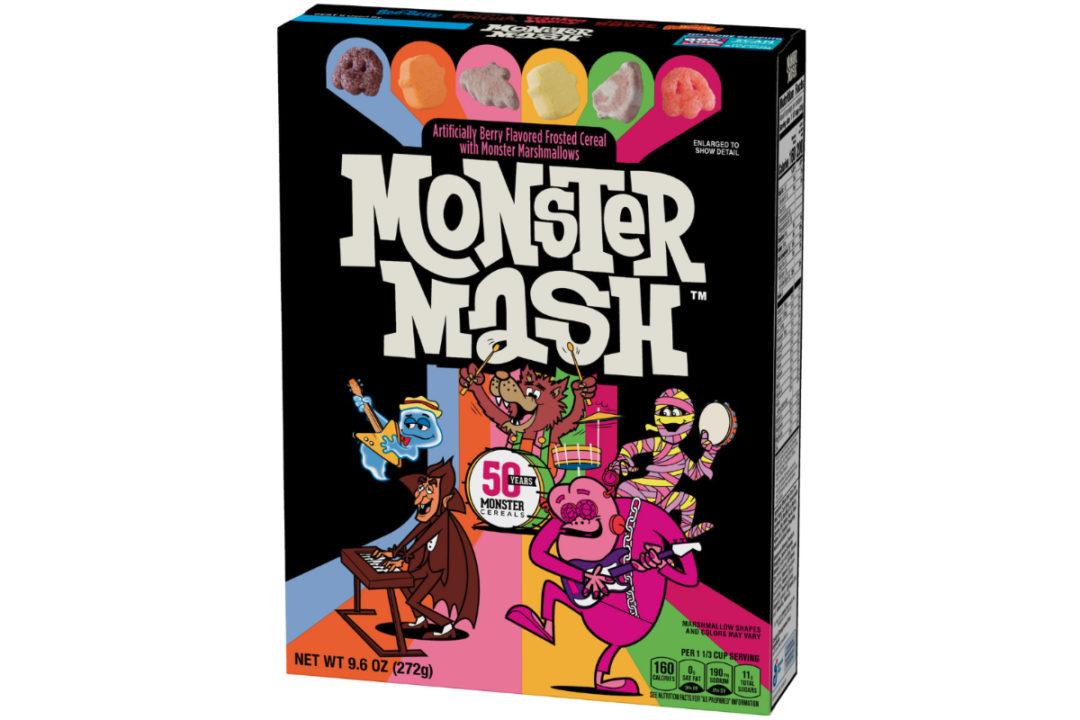 General Mills Monster Mash cereal