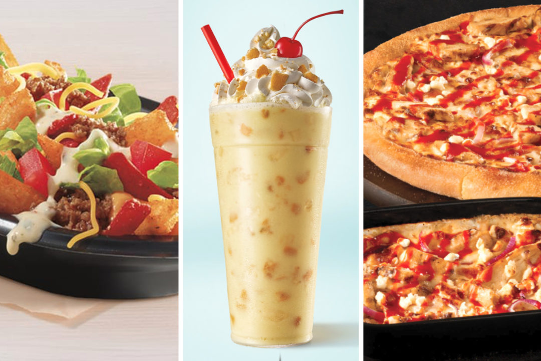 New menu items from Taco Bell, Sonic, Marco's Pizza