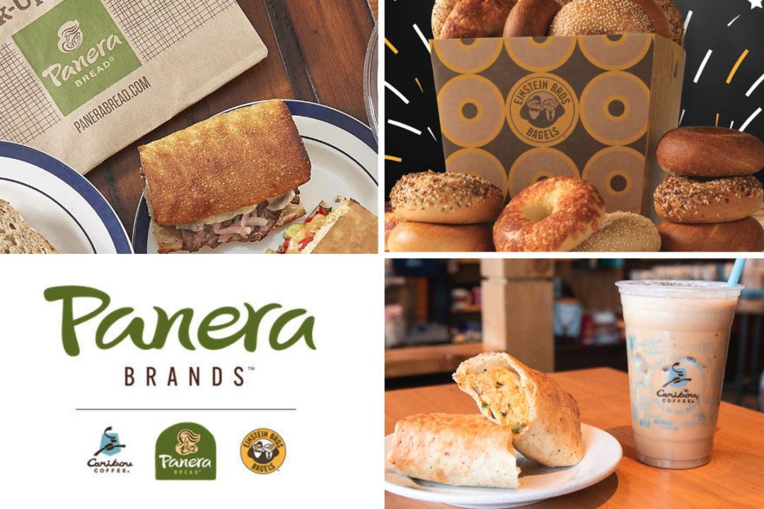 Panera Brands Panera Bread, Caribou Coffee and Einstein Bros. Bagels menu items