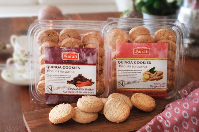 Surati quinoa cookies