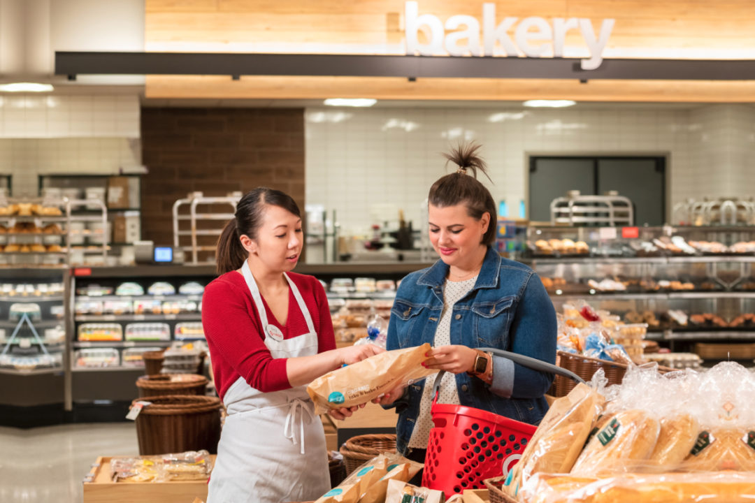 Target bakery section