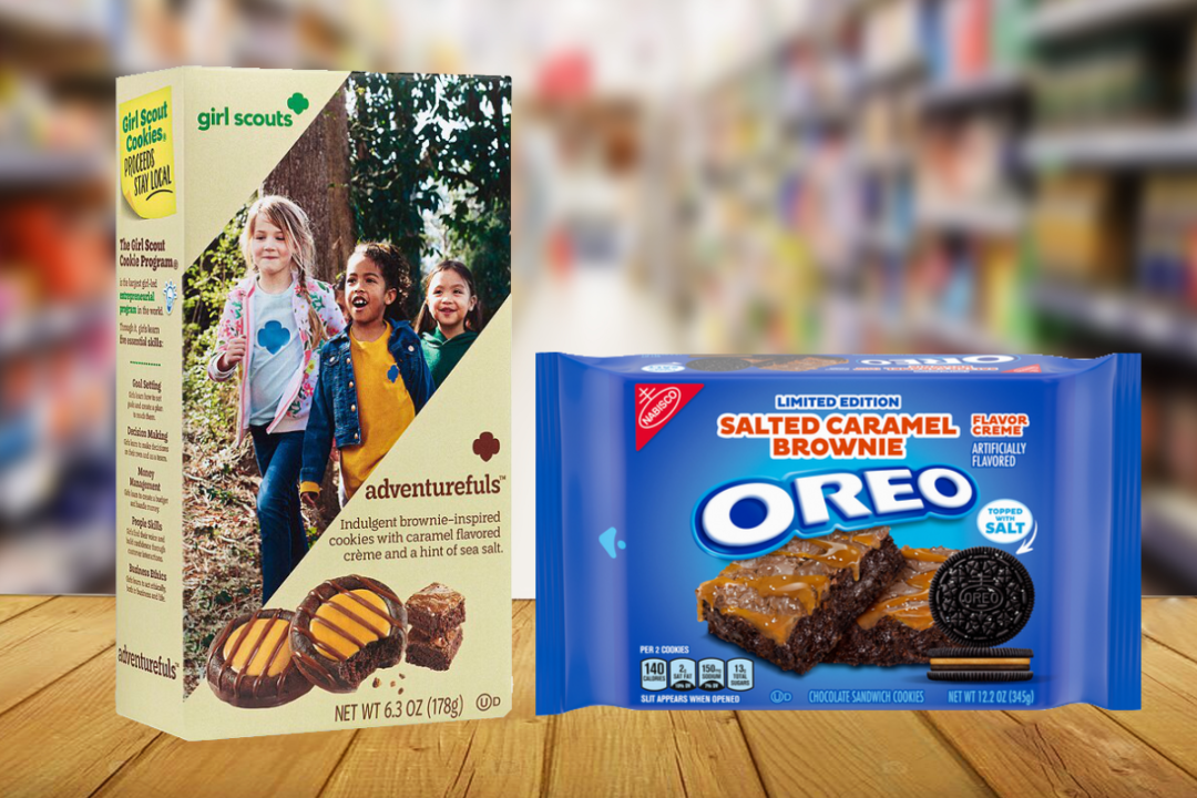 Salted Caramel Brownie Oreos and Girl Scouts of the USA Adventurefuls