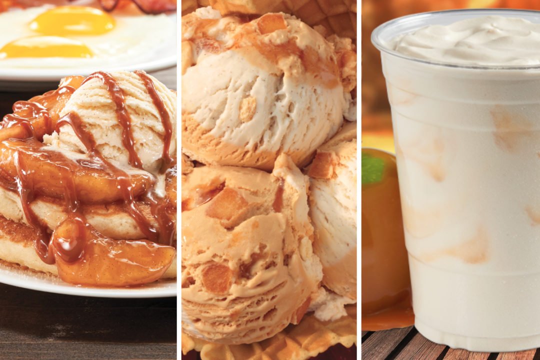 New menu items from IHOP, Baskin-Robbins, and Del Taco