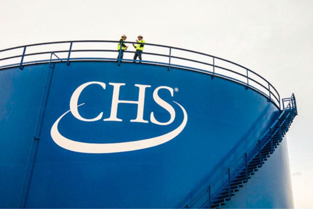 CHS Inc. facility silo