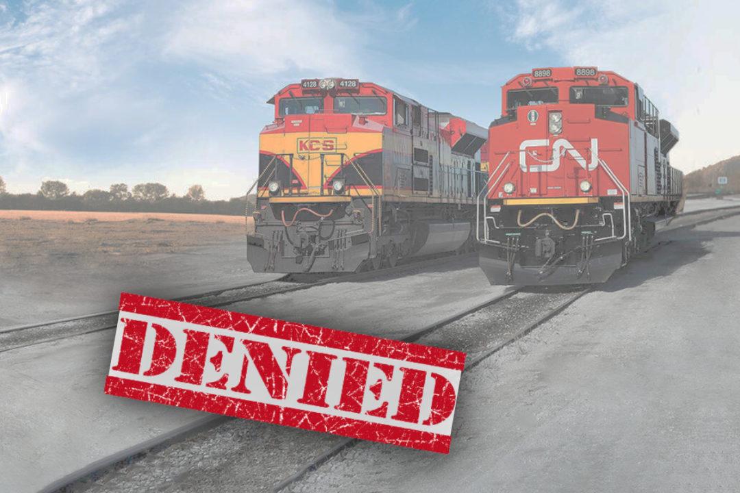 CN and KCS railways