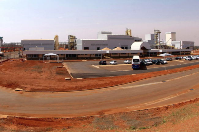 Cargill pectin production facility in Bebedouro, Brazil