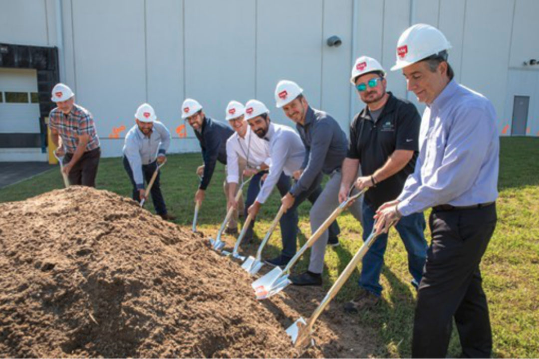 Dr. Schär USA groundbreaking at manufacturing plant in Logan Township