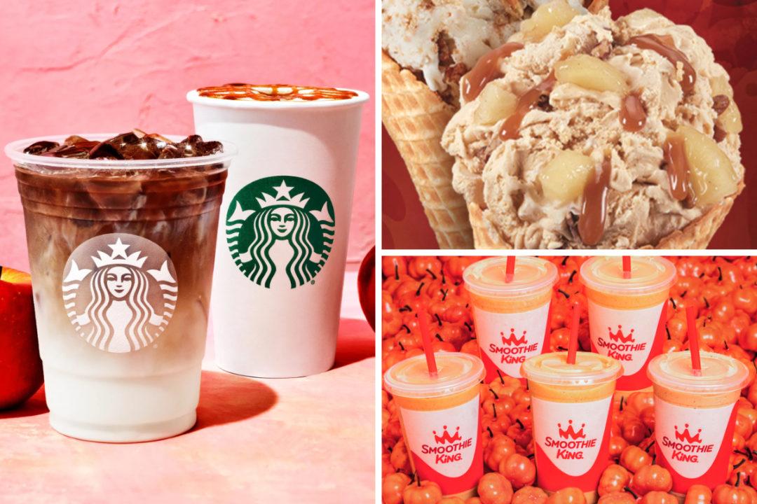 Fall 2021 menu items