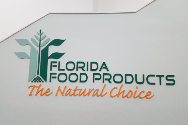 Florida Food Products sign