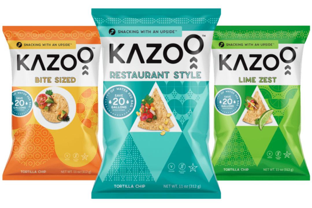 Kazoo Snacks upcycled tortilla chips