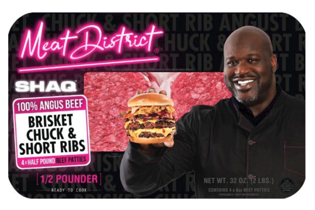 Meat District Shaq Burger