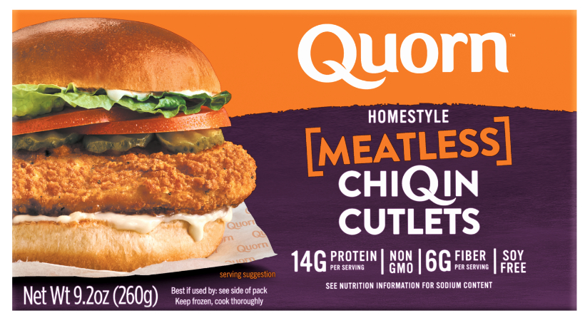 Quorn meatless ChiQin cutlets