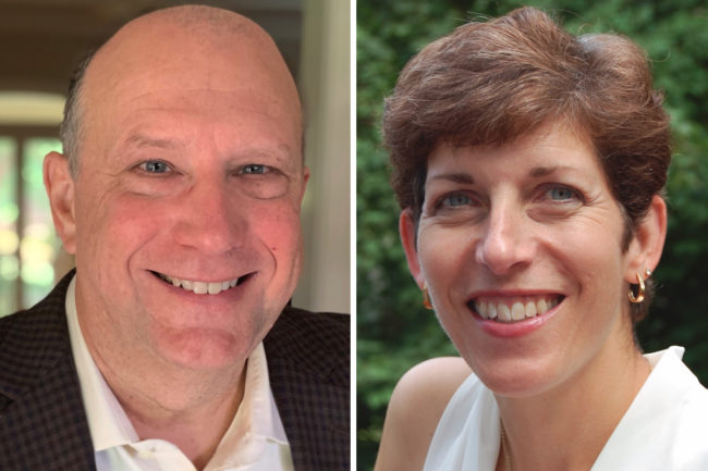 Rod Hogan and Ellen Howse, Deweys Bakery