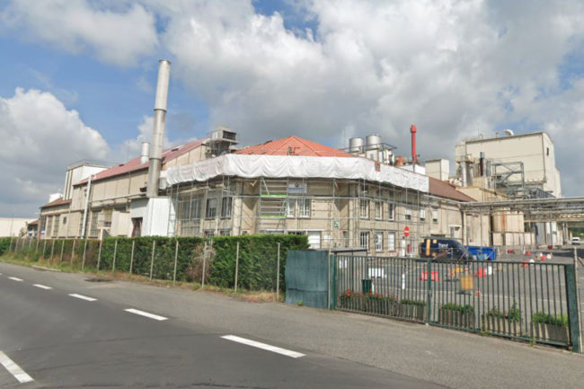Roquette plant protein facility in Vic-sur-Aisne, France