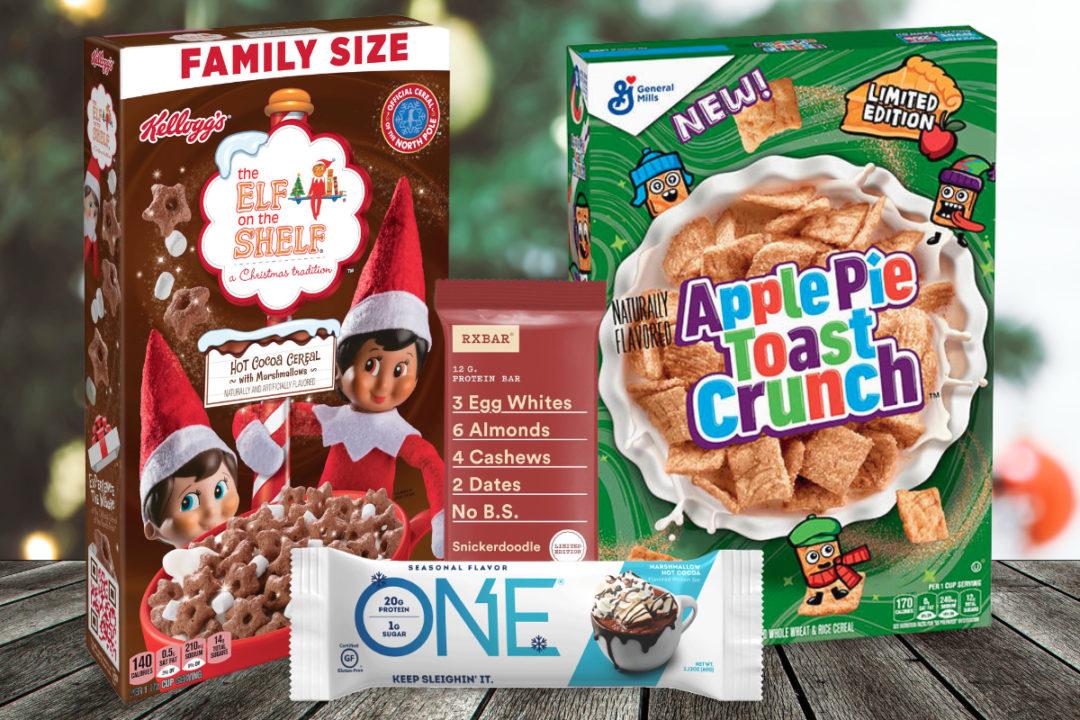 New seasonal products from General Mills, Kellogg, Hershey