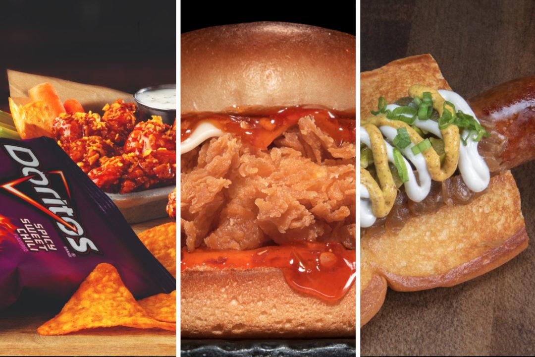 New menu items from Buffalo Wild Wings, Carl's Jr., Dog Haus