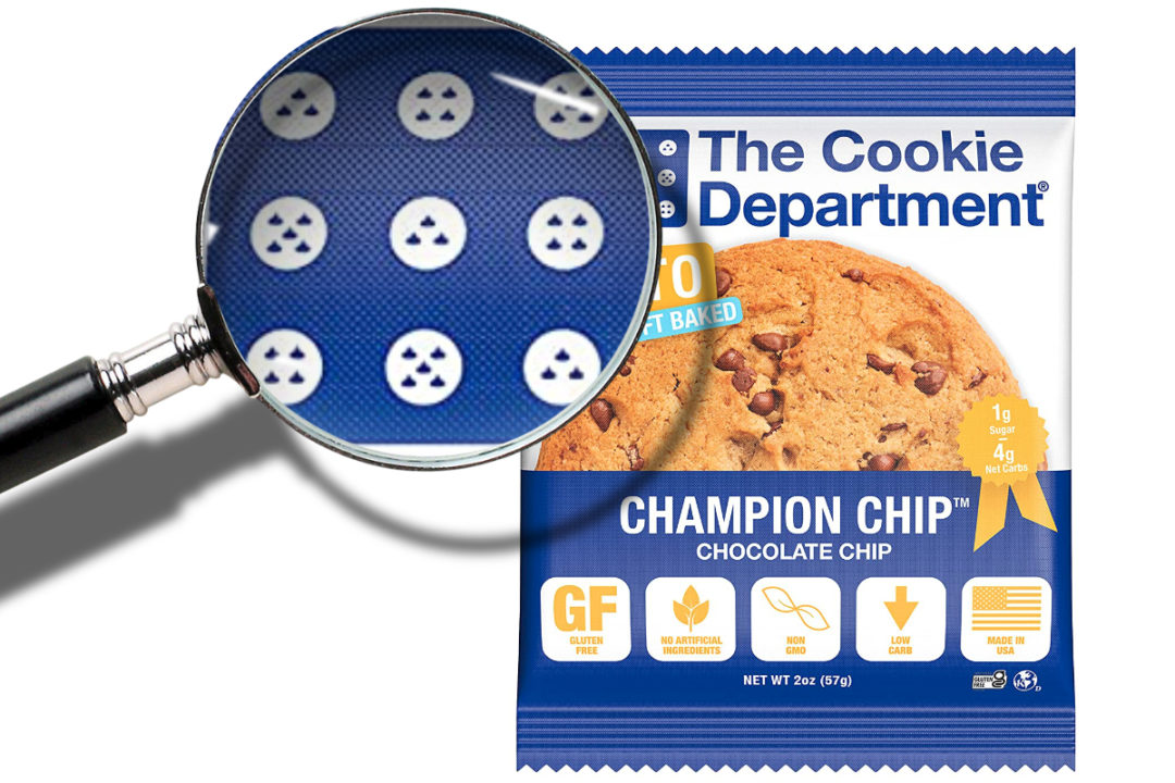 The Cookie Department chocolate chip teardrops