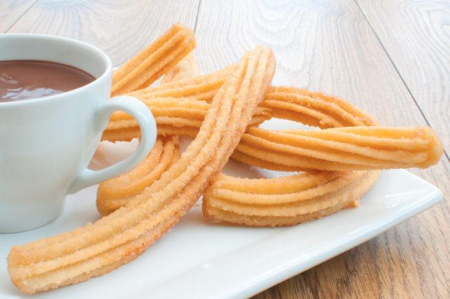 J&J Snack Foods churros