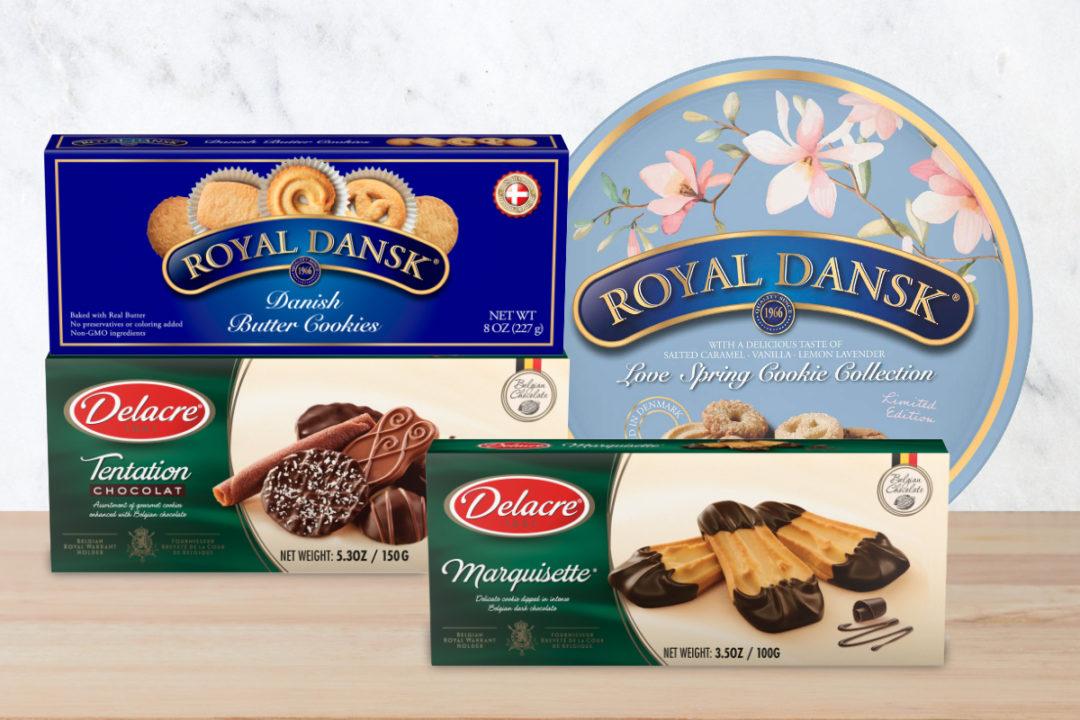 Ferrara Delacre and Royal Dansk cookie innovation