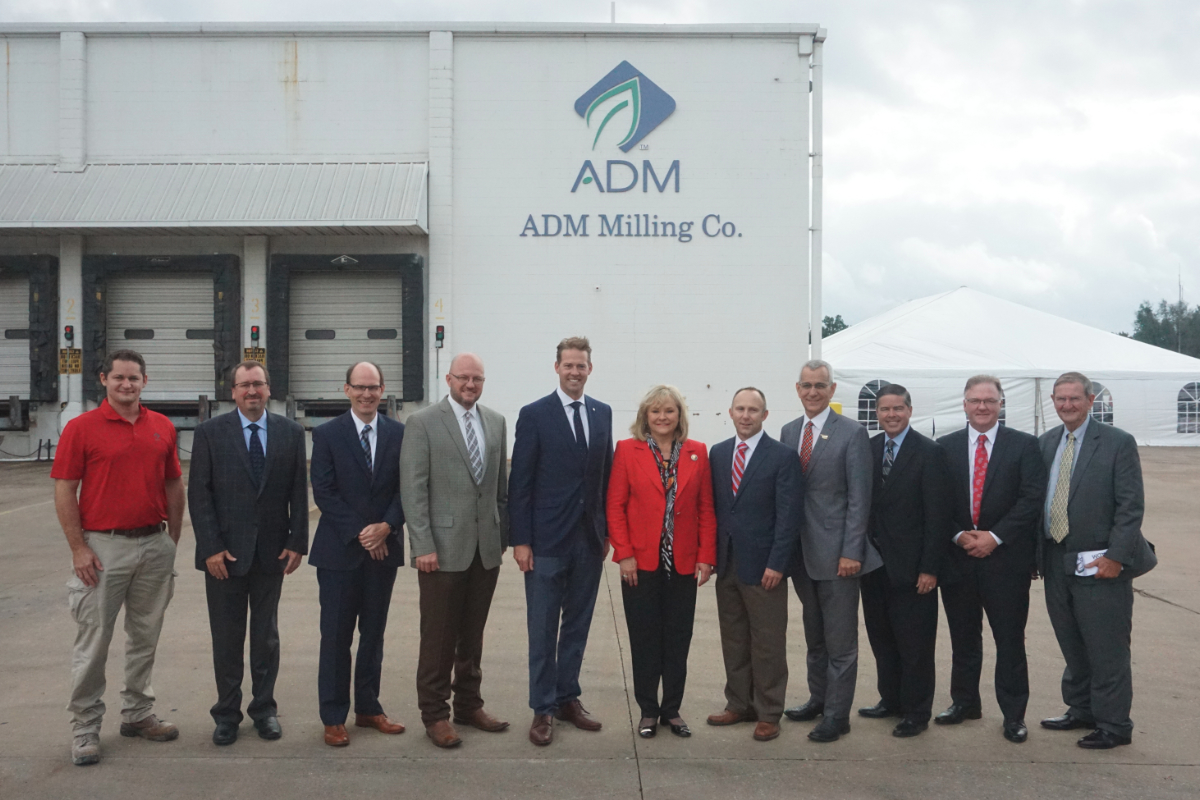 ADM flour mill in Enid, OK