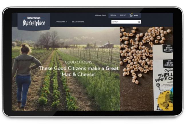 Albertsons online marketplace