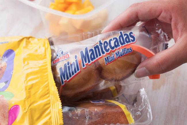 Grupo Bimbo mini muffins