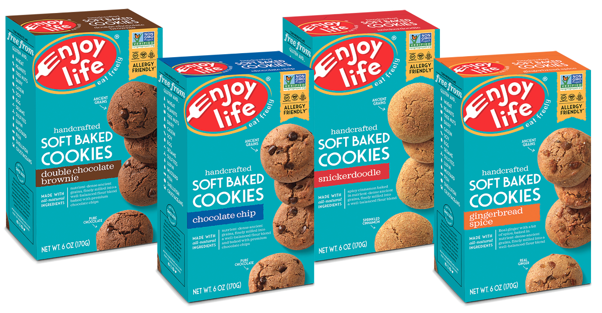 Enjoy Life Foods soft baked cookies