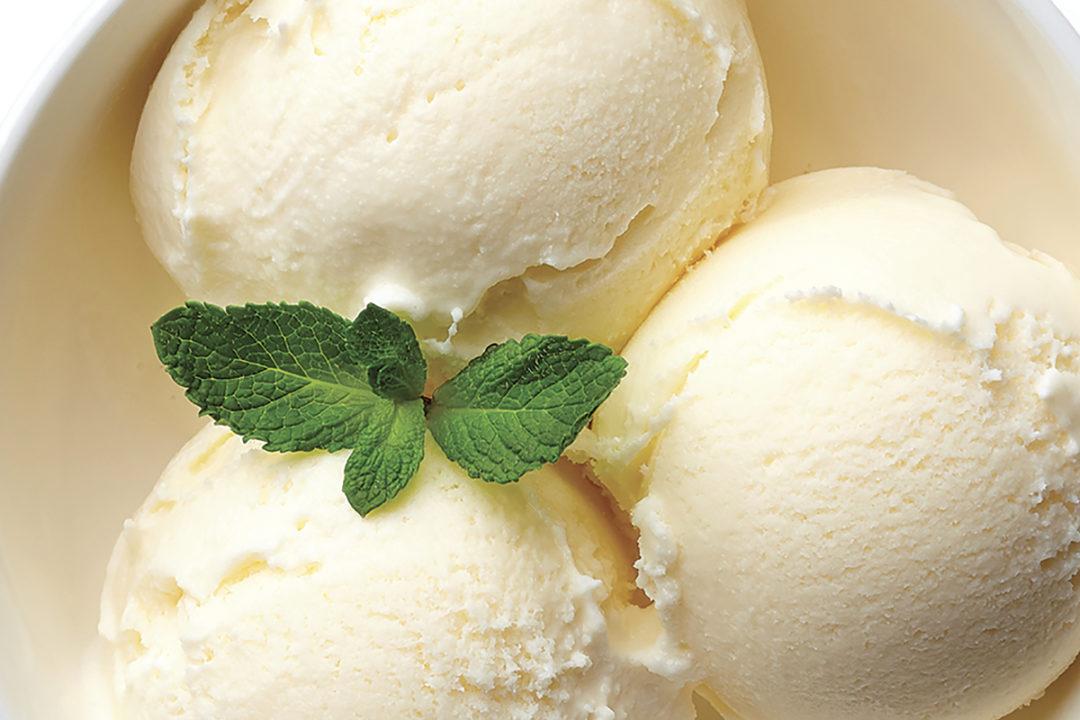 Fiber ice cream