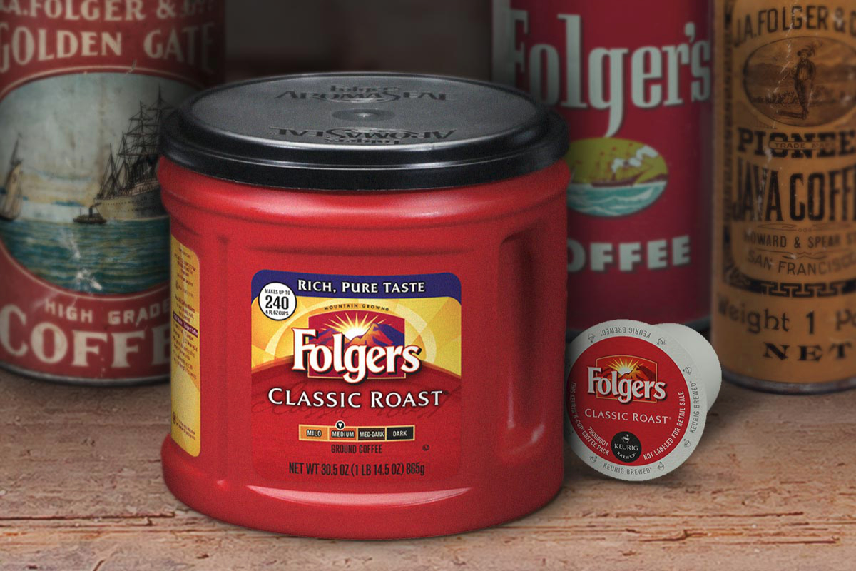 Smucker Folgers coffee