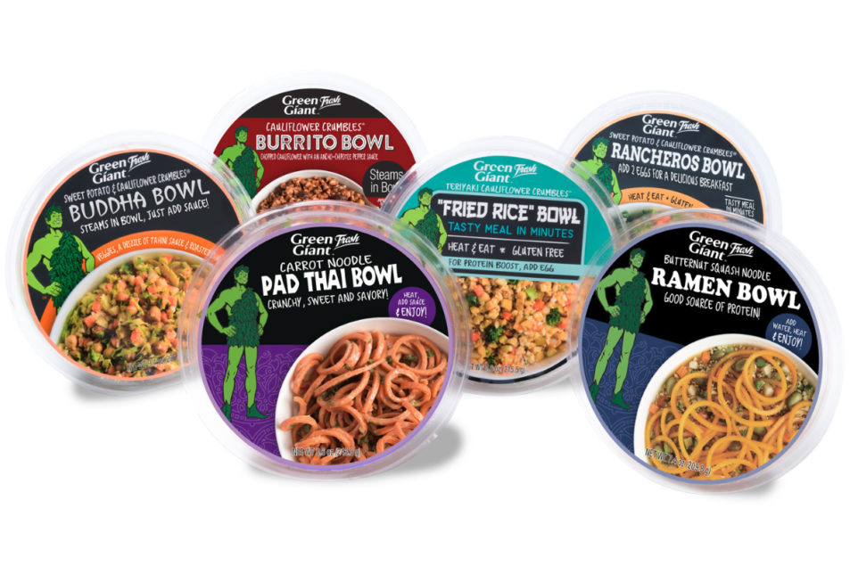 Green Giant Fresh Launches Vegetable Meal Bowls 2018 10