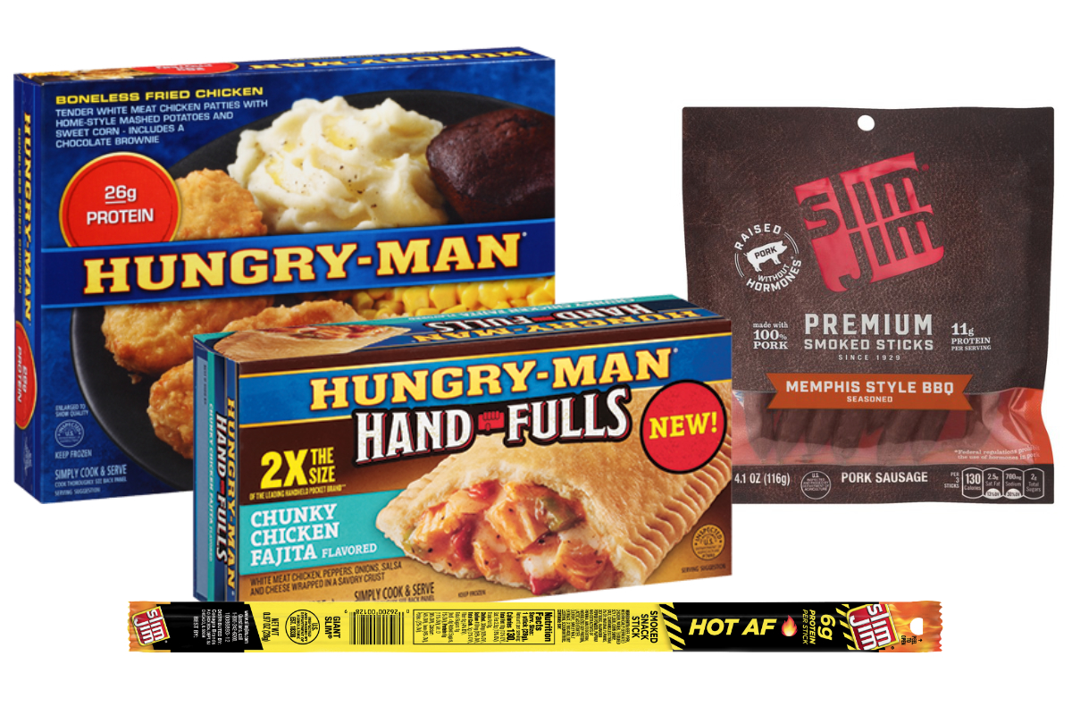 Hungry Man and Slim Jim products, Conagra Brands