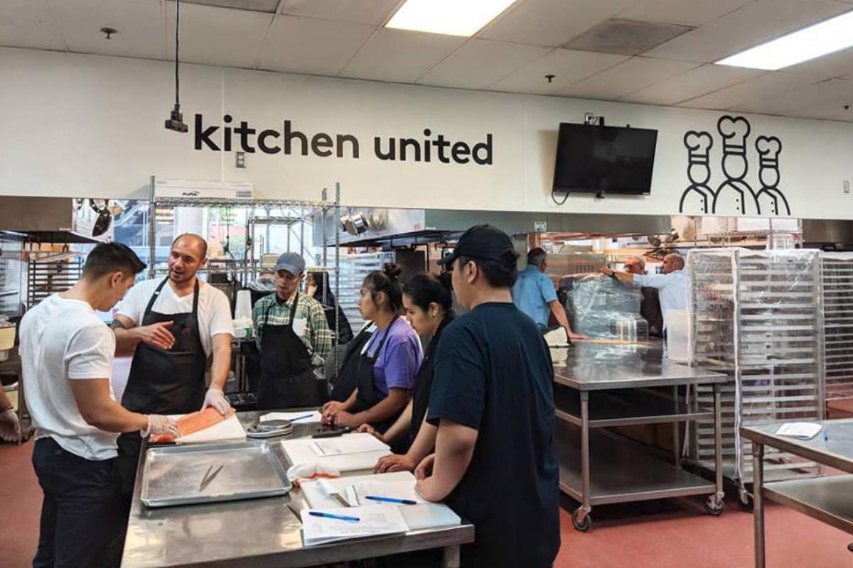 Kitchen United training