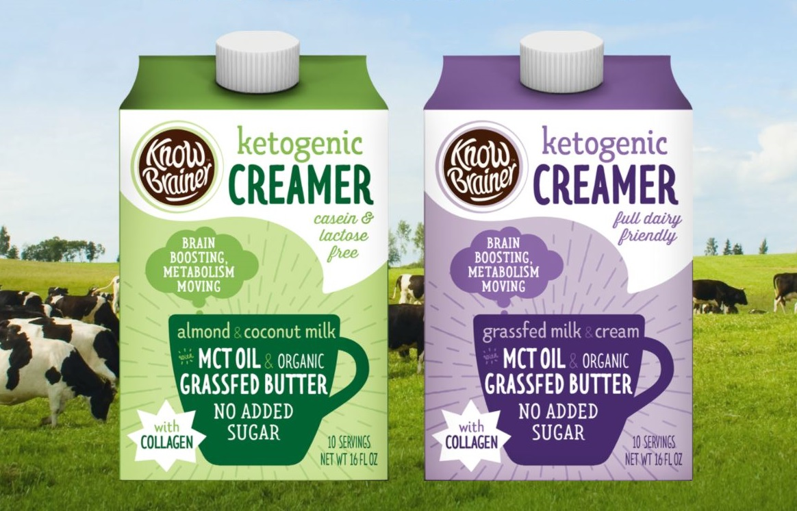 Know Brainer ketogenic coffee creamers