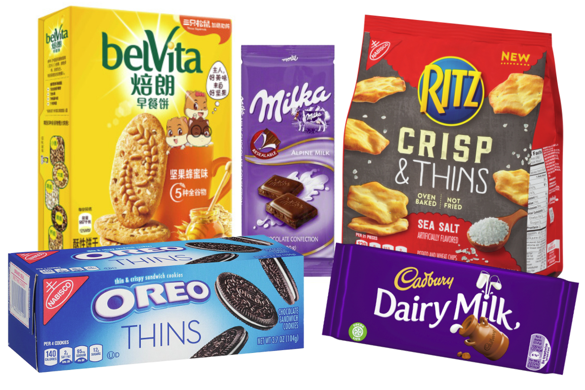 Mondelez International products