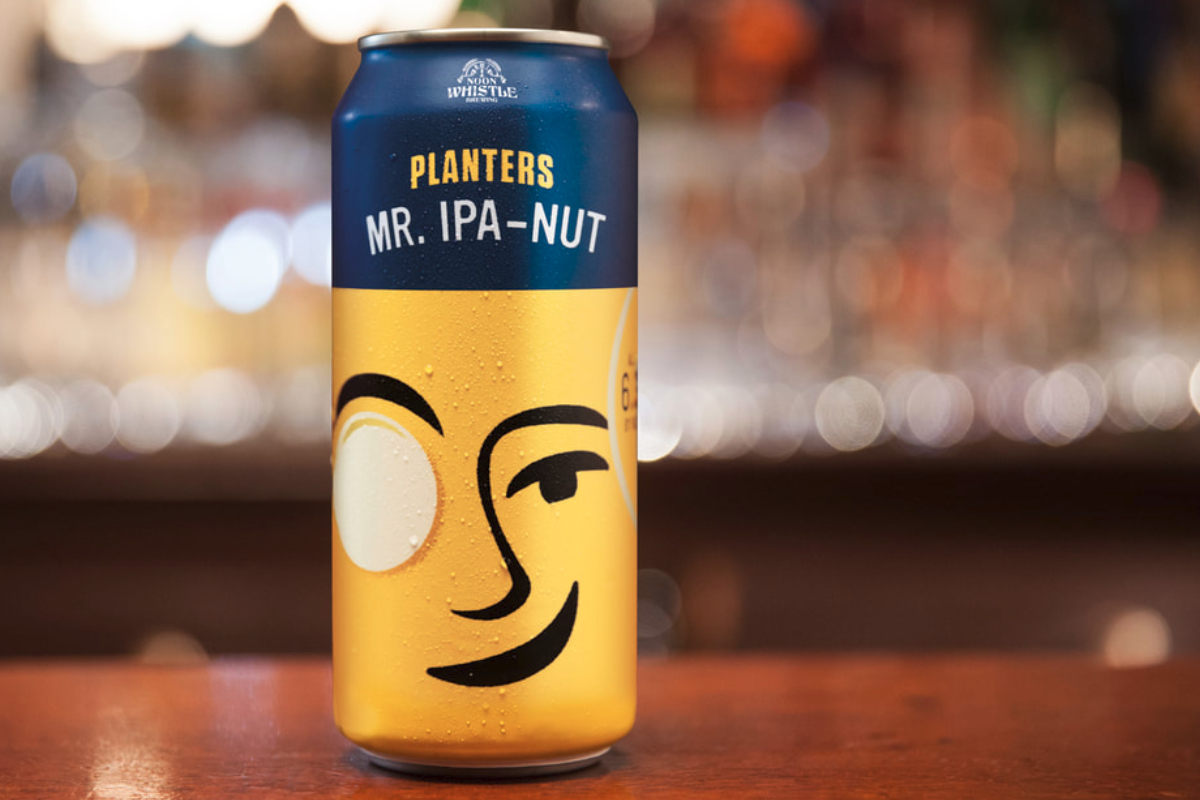Kraft Heinz generating buzz with Planters-inspired craft beer launch