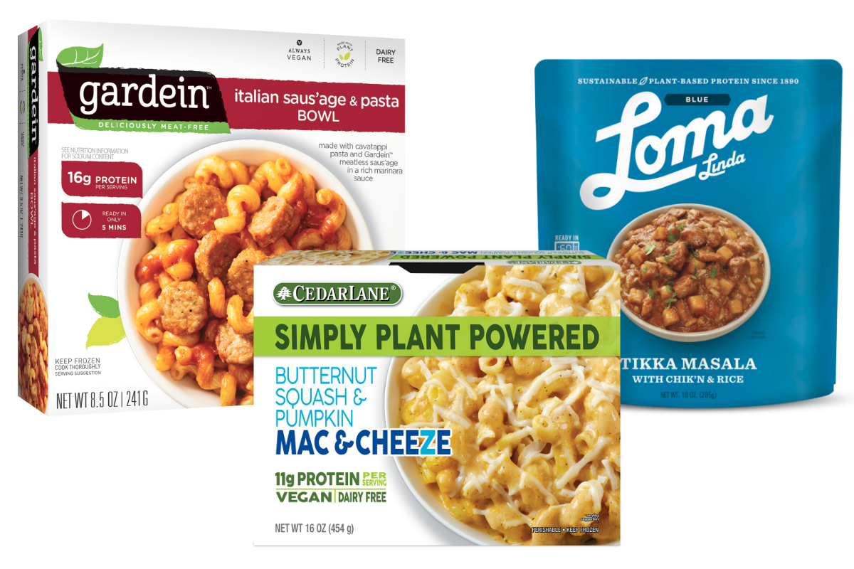 Plant-based protein products
