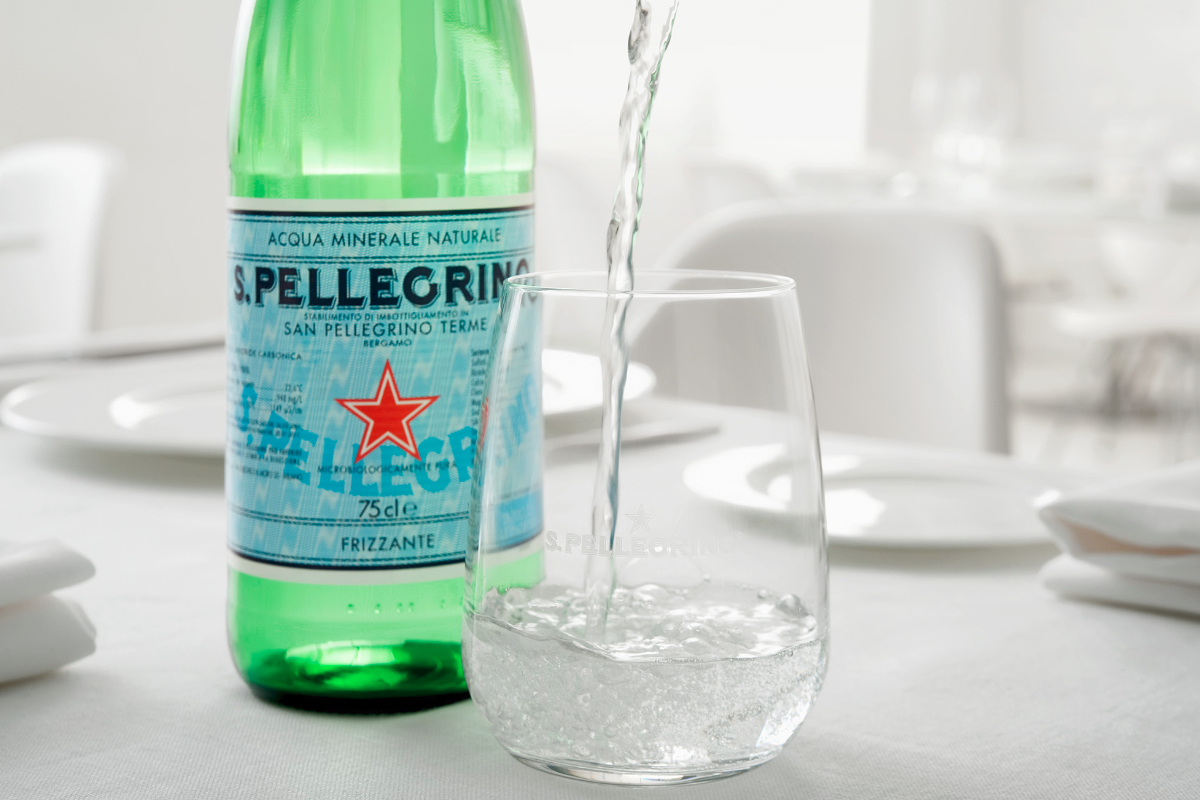 S. Pellegrino water, Nestle
