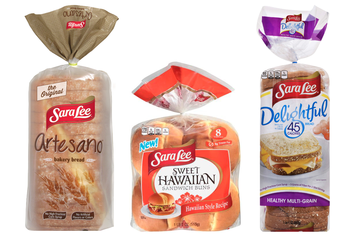 Sara Lee bread and buns
