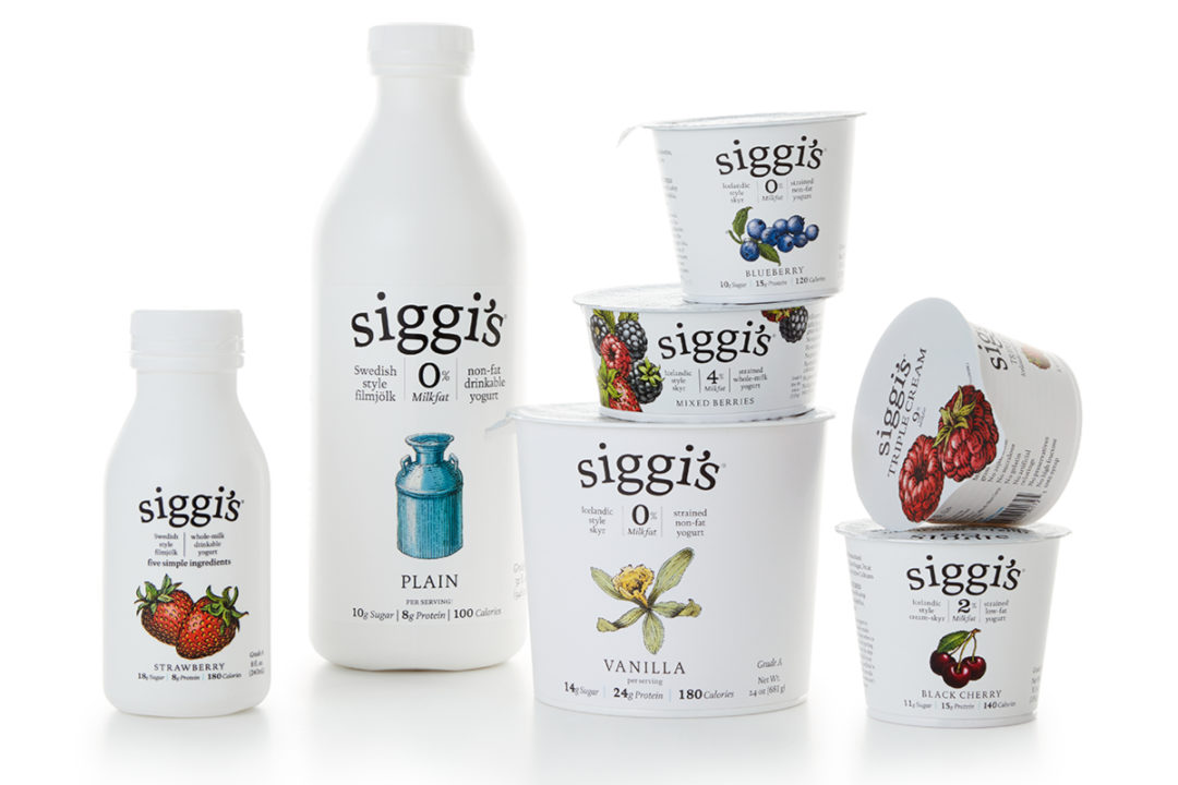 Siggi's yogurt products