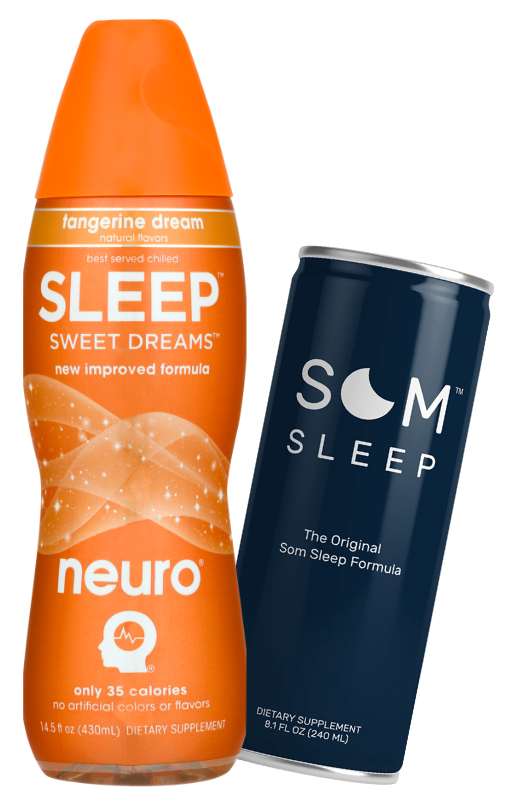 Sleep aid beverages