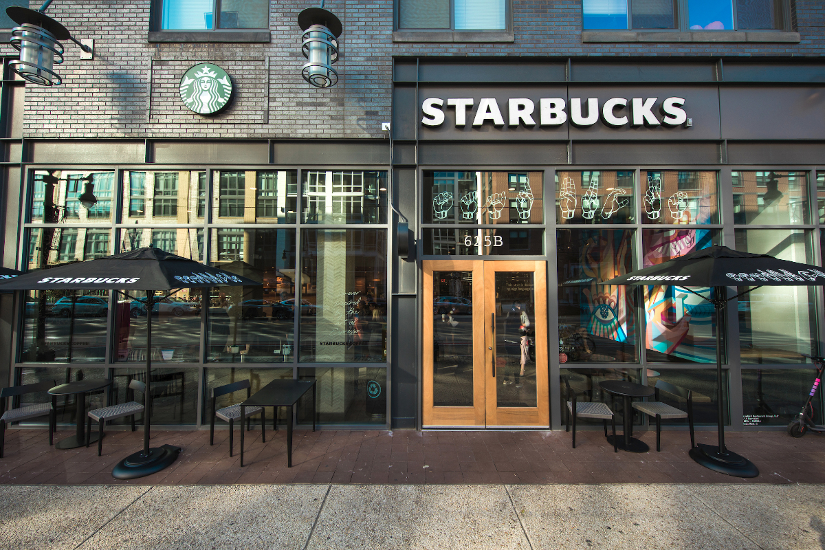 bdd13523be25 First Starbucks sign language store opens in Washington, D.C. | 2018 ...