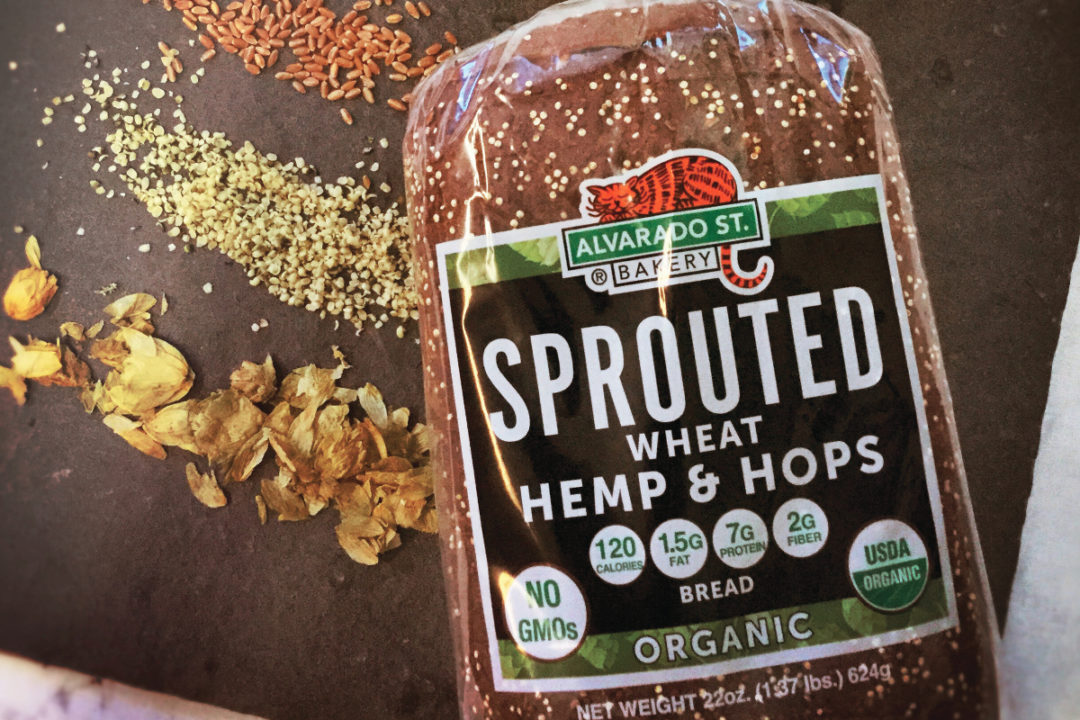 Alvarado St. Bakery sprouted wheat hemp and hops bread