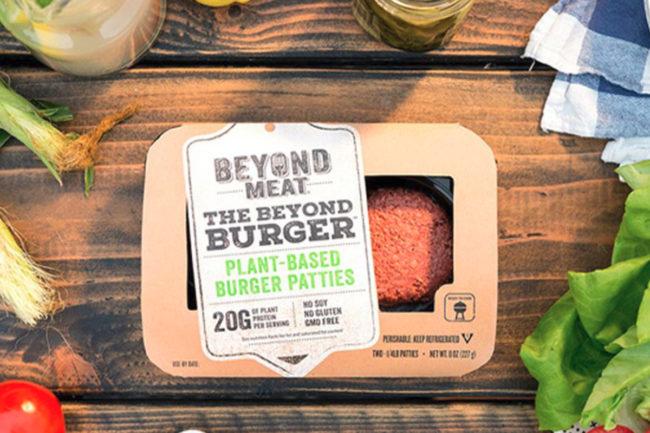 Beyond Meat plant-based Beyond Burger